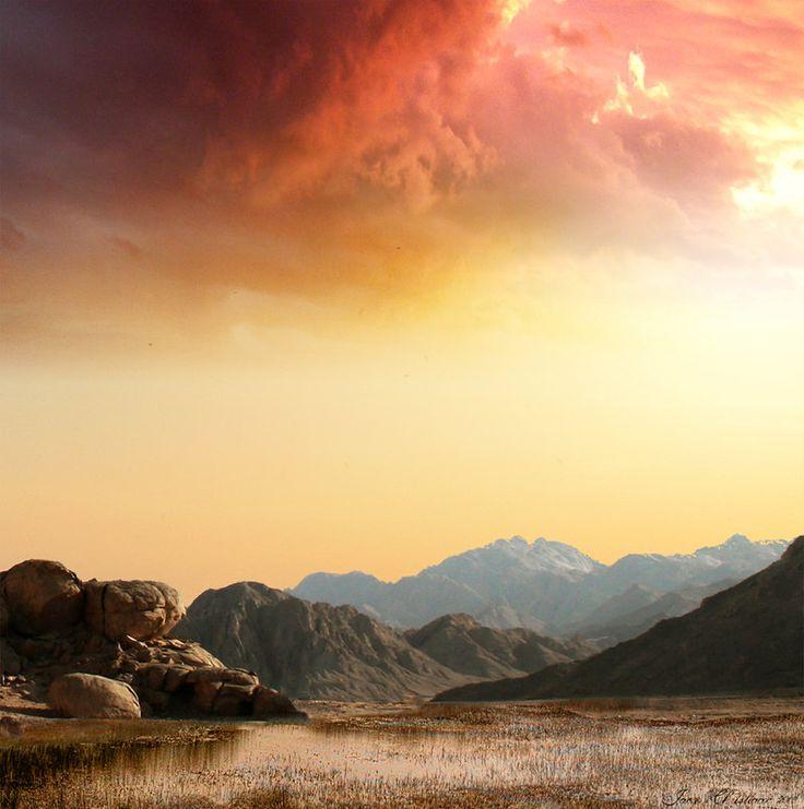 desolate landscapes - Google Search