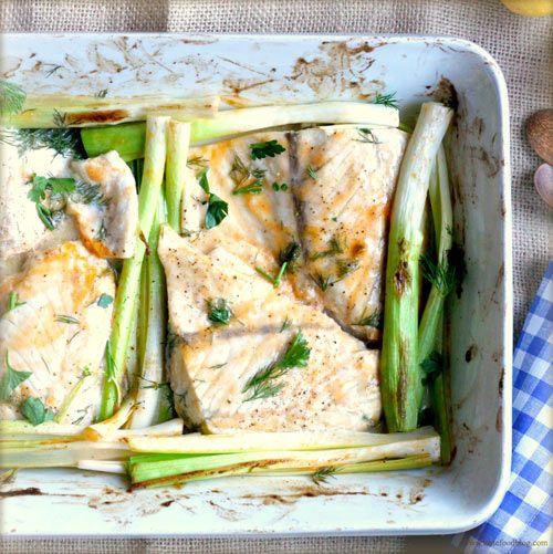 how to cook baby leeks
