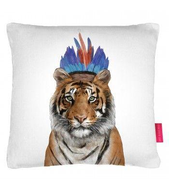 le-coussin-artemis-tigre-indien-coiffe