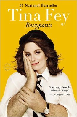 "Bossypants by Tina Fey - Before Liz Lemon, before ""Weekend Update,"" before ""Sarah Palin,"" Tina Fey was just a young girl with a dream that one day she would be a comedian on TV. This is her story, from her youthful days as a vicious nerd to her tour of duty on Saturday Night Live; from her passionately halfhearted pursuit of physical beauty to her life as a mother eating things off the floor. Tina Fey reveals all, and proves what we've all suspected: you're no one until someone calls you…"