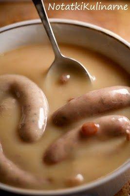 Biała kiełbasa w karmelowym sosie