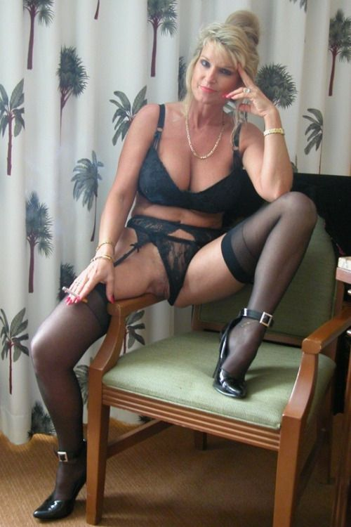 The Hot mom wife milf amateur stockings thanks