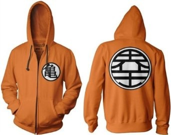 Dragonball hoodie. Got to get this for the hubby.