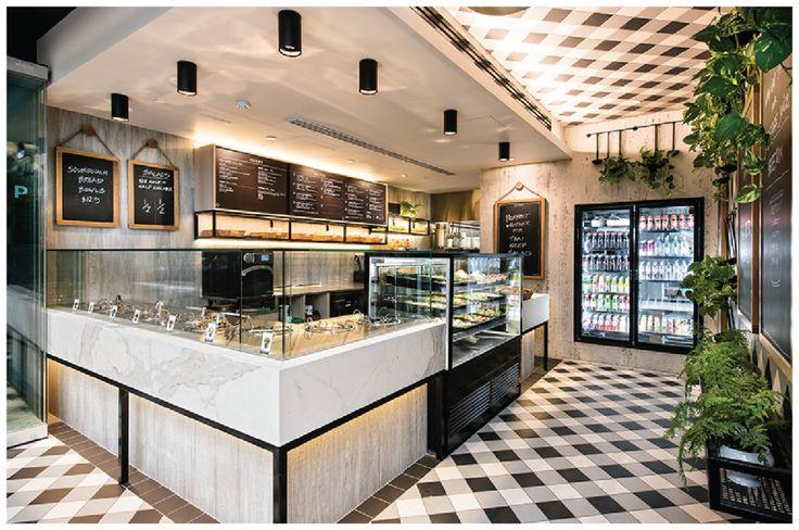 Restaurante de sopas e saladas com visual de picnic for Design shop 24
