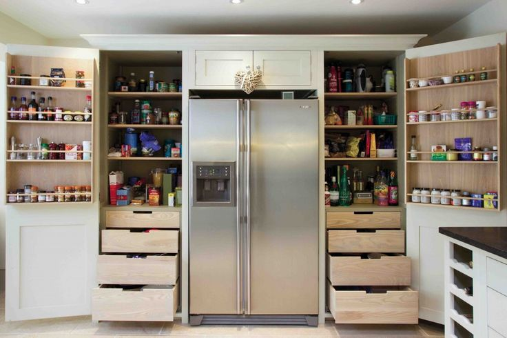 Suffolk Grand Full Height combination larder by Neptune.