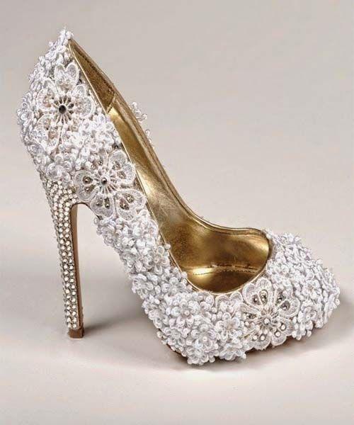 Latest bridal shoes 2015
