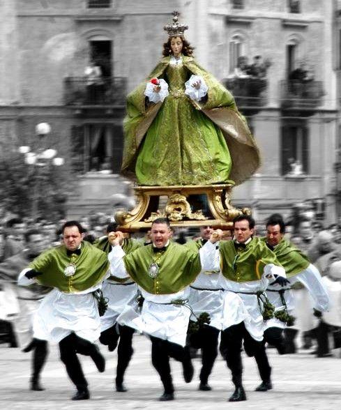 Easter in Sulmona, Province of L'Aquilia , ABRUZZO region Italy
