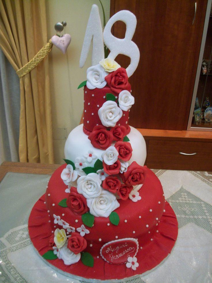 Torta 18 anni/ cake 18th birthday