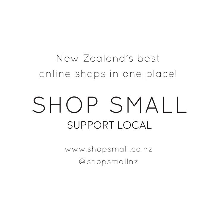 We are super stoked to be a part of this new directory supporting small NZ online stores. Check out our listing http://www.shopsmall.co.nz/listings/etico/