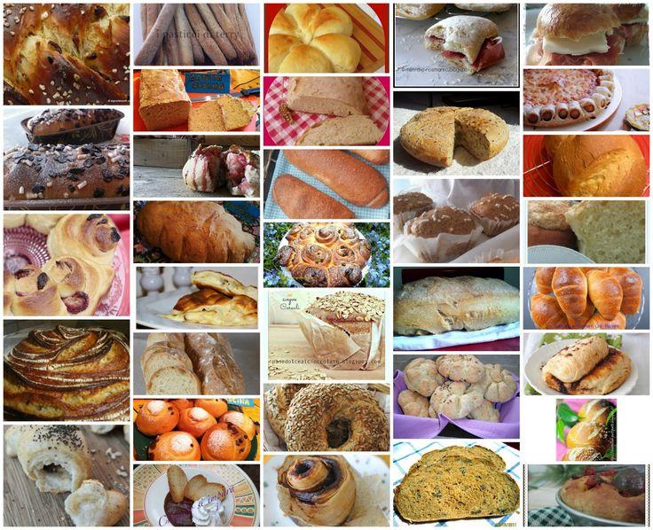 """Dal sito """"Indovina chi viene a cena"""" ---Panissimo--- una raccolta di ricette di  pane e lievitati salati e dolci. Raccolta n. 4   Con traduzione in inglese"""