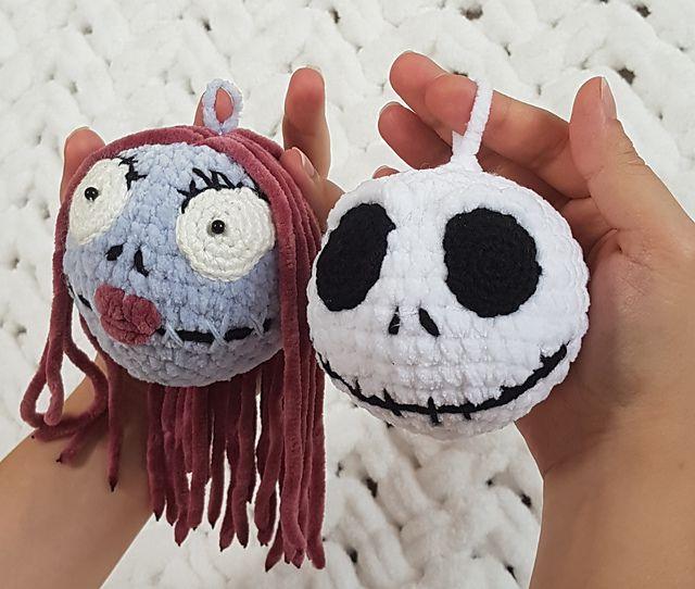 Jack Sally Trinkets Pattern By Natalia Ganenkova Crochet Monsters Halloween Crochet Crochet Toys Patterns