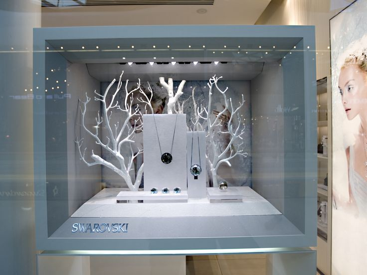 Jewellery display, visual merchandising, Elemental Design, swarovski