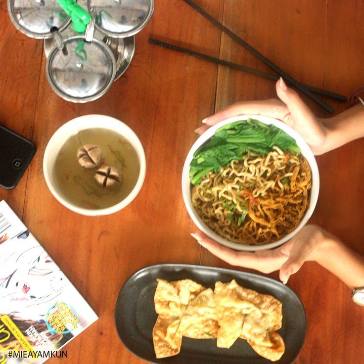 Mie Ayam Kun   Jl.Kisamaun Gang Kenanga No 3 - Kota Tangerang  #mieayamkun