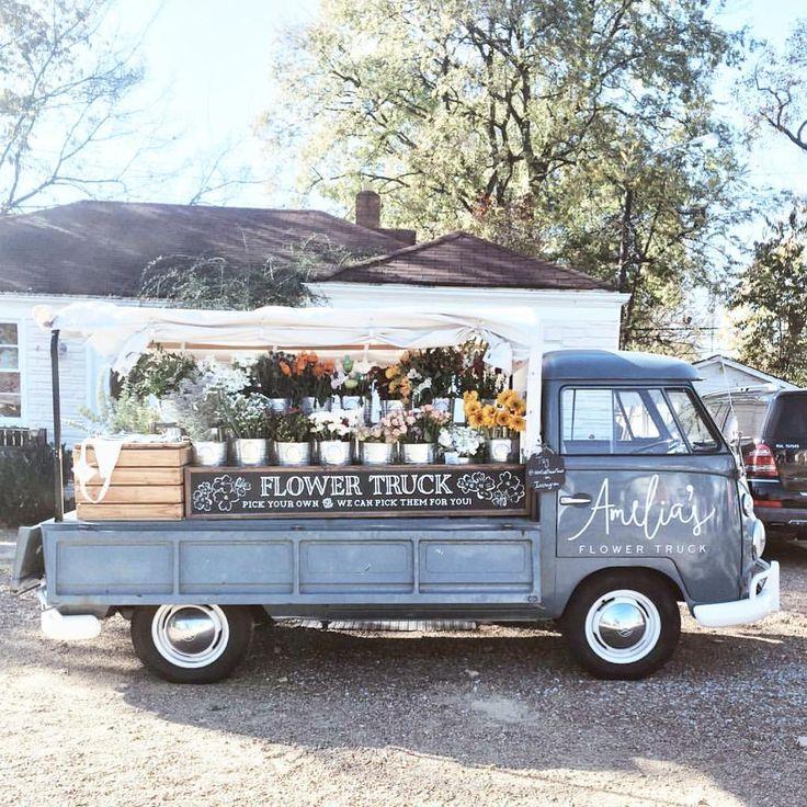 Best 25 Flower Truck Ideas On Pinterest Farm Art