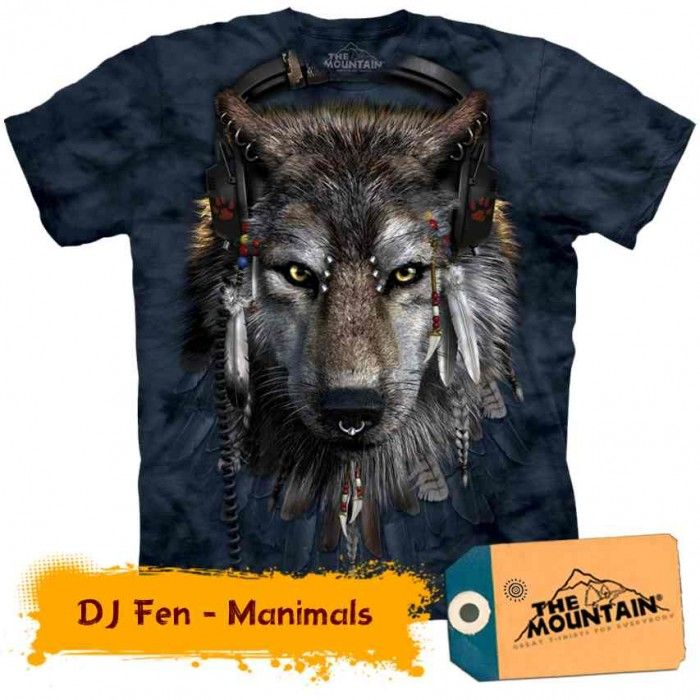 Tricouri The Mountain – Tricou DJ Fen