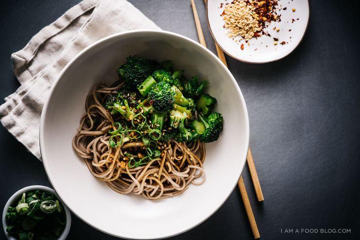 broccoli soba bowl