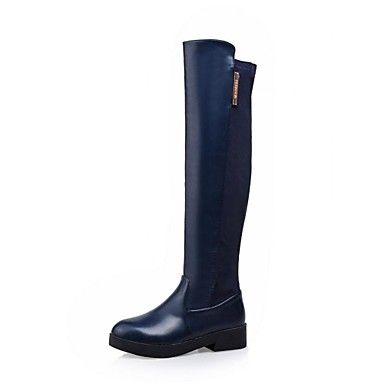 scarpe da donna stivali da equitazione tacco basso stivali alti al ginocchio più colori disponibili – EUR € 38.67
