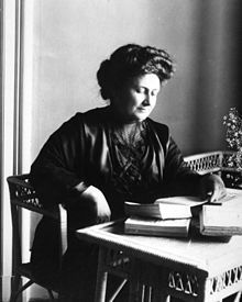 Maria Tecla Artemesia Montessori (August 31, 1870 – May 6, 1952) was an Italian physician and educator, a noted humanitarian and devout Roman Catholic best known for the philosophy of education that bears her name, and her writing on scientific pedagogy. Her educational method is in use today in public and private schools throughout the world.