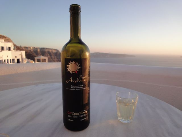 Santorini Wine is the Best in Greece