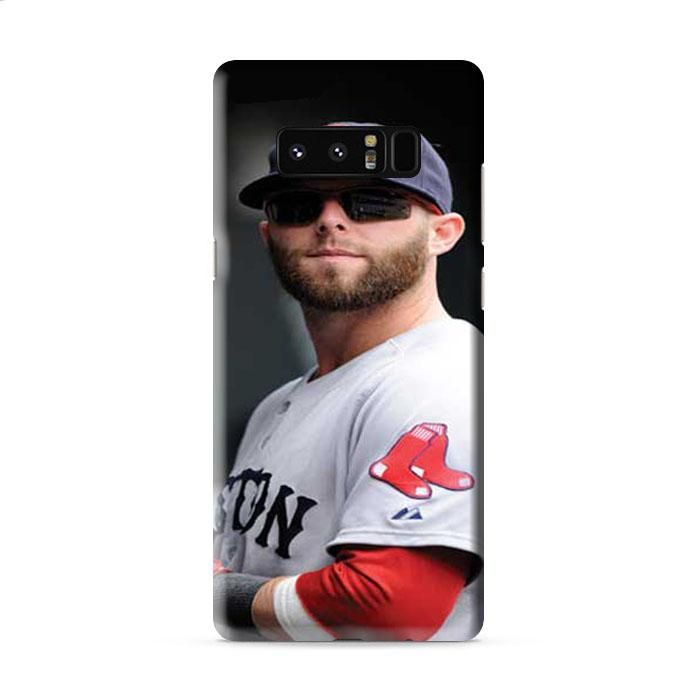 Boston Red Sox dustin pedroia Samsung Galaxy Note 8 3D Case Caseperson