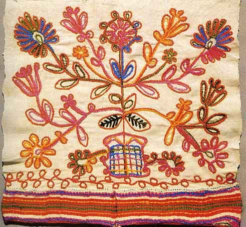 1900 - Vesegonsk, Russia embroidery
