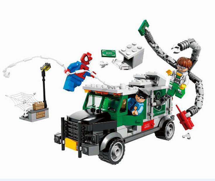 Marvel Building Blocks Lego Truck with Spiderman Minifigures - free shipping worldwide Captain America Backpack Leather Cute Backpack Teenage Shool Bag - free shipping worldwide  #thor #marvel #villians #loki #ultron #avengers #theavengers #ironman #spiderman #deadpool #antman #marvelcomics #marvelshots #marveluniverse #captainamerica #mutant #comicon #cool #hulk #hulksmash #comics #comic #cosplay #superman #batman