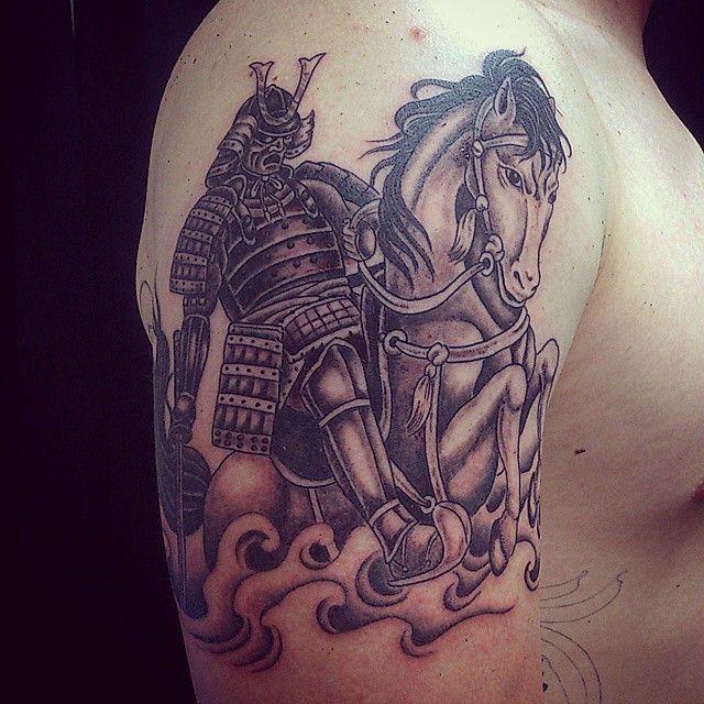 Best Asian Samurai Tattoo Images On Pinterest Tattoo Ideas - Best traditional samurai tattoo designs meaning men women