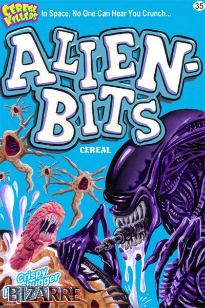 Horror Society: Cereal Killers (16 pics)