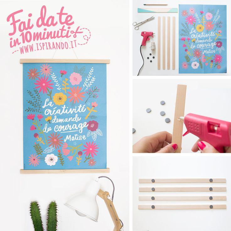 Bien-aimé Oltre 25 idee originali per Cornice fai da te su Pinterest  GU46
