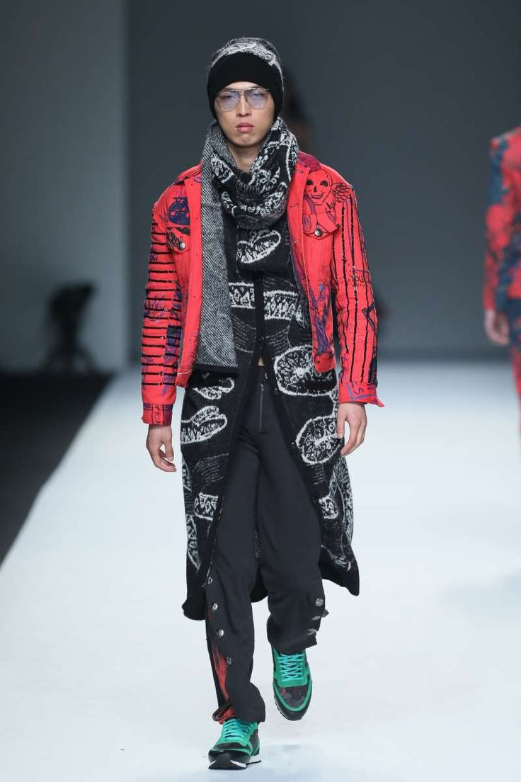Daniel Wong Fall-Winter 2017 - Shanghai Fashion Week