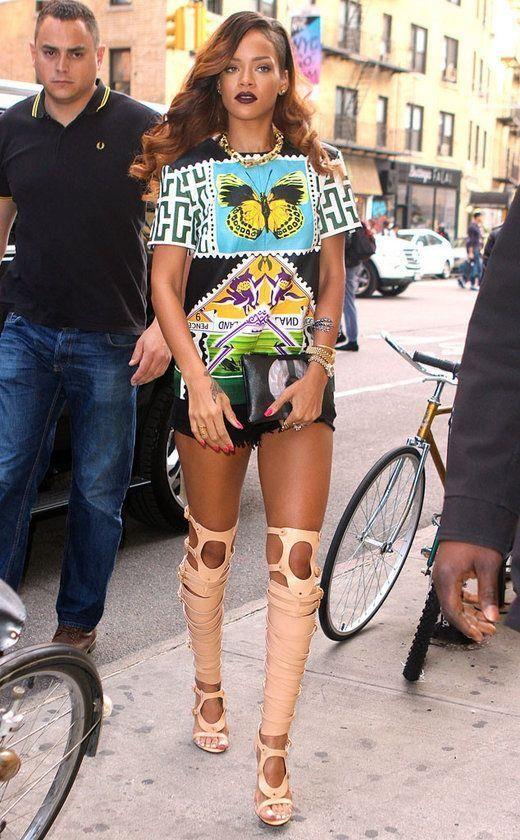 Rihanna's Top 27 Kleider Kombinationen | Sexy und Schöne Kleider – Elegante Abendkleider – Part 17