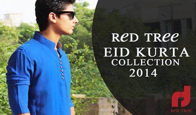 Menswear Kurta Designs For Eid 2014 By Red Tree
