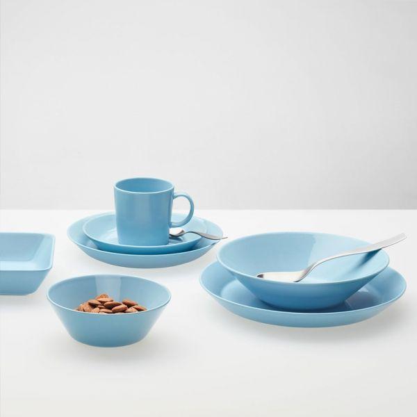 Nieuw bij www.marlieenfelice.nl, deze licht blauwe collectie van Teema - Iittala