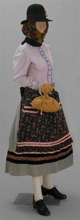 Farm worker traditional dress, Algarve, Portugal