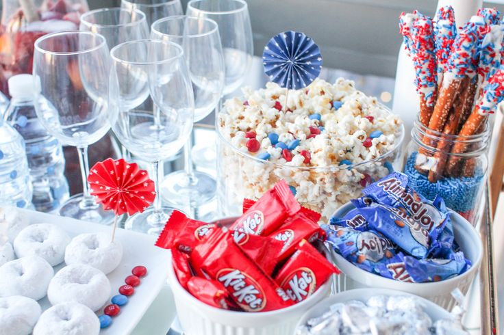 How to Host an Almost Stress-Free Election Night Party // Patriotic Party // Fourth of July