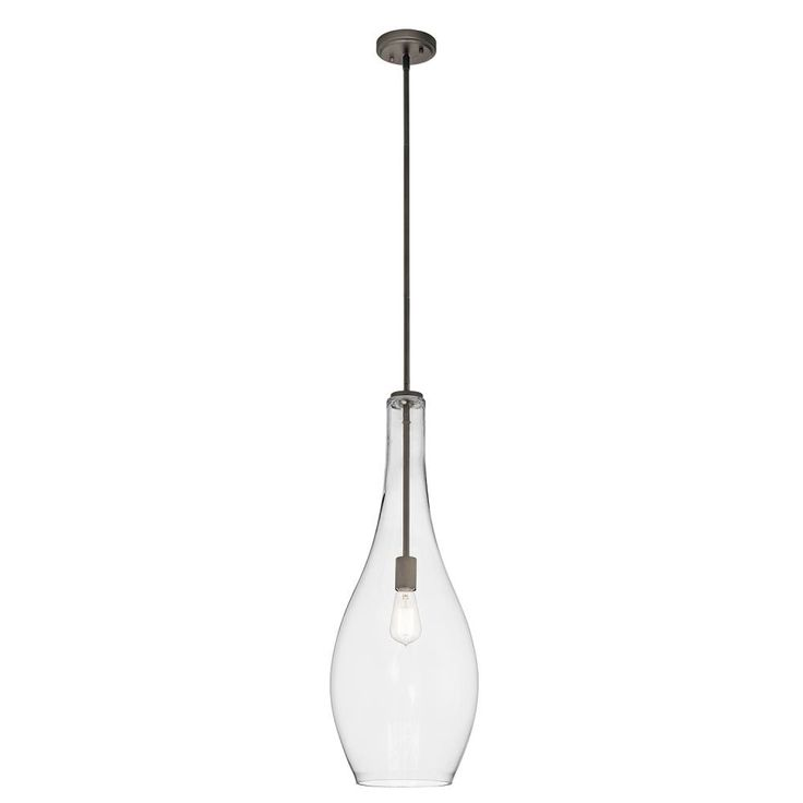 Pendant 1Lt : 42475OZCLR | Living Lighting Beaches