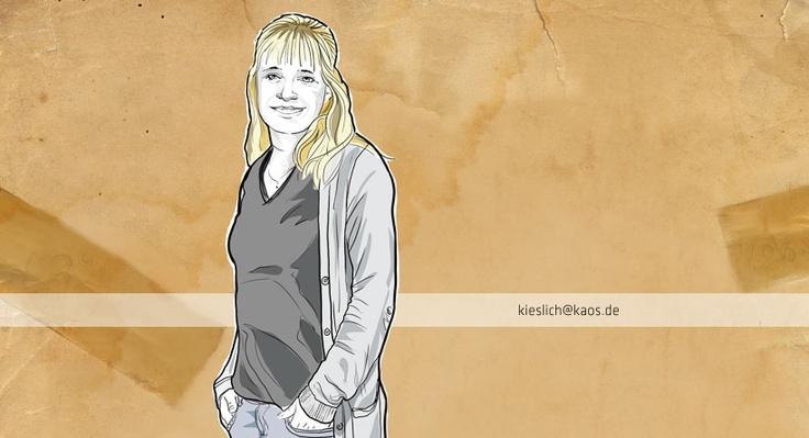 anja kieslich  grafik // dipl. kommunikationsdesignerin    http://www.kaos.de