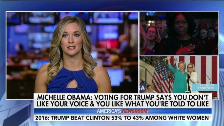 """SHUT UP MICHELLE! / Former First Lady Michelle Obama said women who voted for Donald Trump over Hillary Clinton in the 2016 presidential election went against their """"own voice."""""""