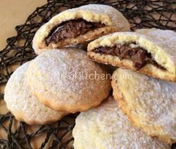 biscotti con nutella