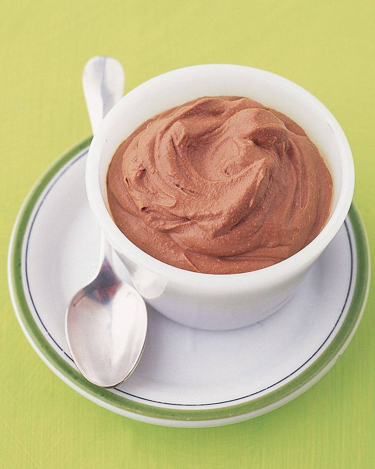 Soft and creamy ricotta can be used in appetizers, main dishes, and desserts like this chocolate pudding.