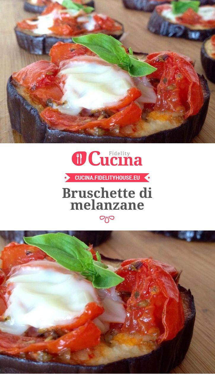 #Bruschette di #melanzane della nostra utente Consiglia. Unisciti alla nostra Community ed invia le tue ricette!