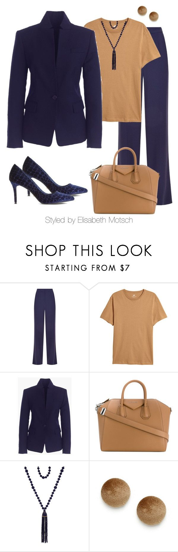 """Individuel Business-Outfit"" by motsch on Polyvore featuring Mode, ESCADA, J.Crew, Givenchy, Kenneth Jay Lane und Dune"