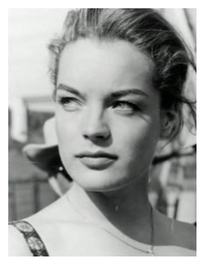 Romy Schneider ... Belleza clara, limpia y etérea.
