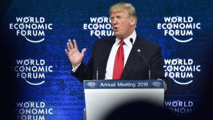 """""""EE.UU. primero, no significa EE.UU. solo"""": qué dijo Donald Trump en el primer discurso de un presidente estadounidense en Davos en 18 años"""