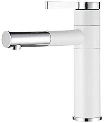 Fapully Contemporary Bathroom Sink Faucet with Rotating Spout 118