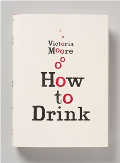 """""""How to Drink"""" book cover by Here Design"""