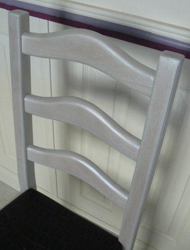 tuto relooking chaise rustique en 2019 peindre meuble. Black Bedroom Furniture Sets. Home Design Ideas