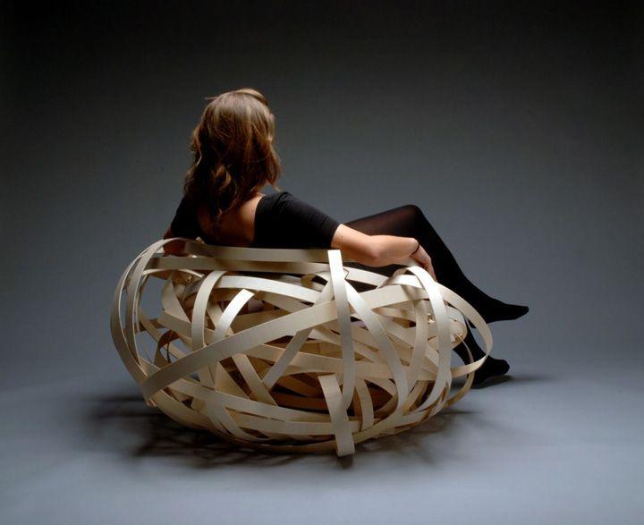 Nest Chair by Nina Bruun chair