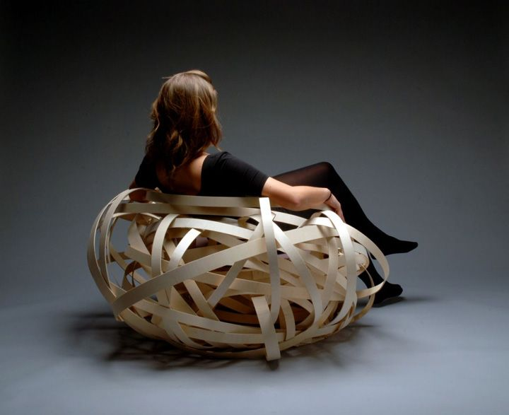 Nest Chair by Nina Bruun chair