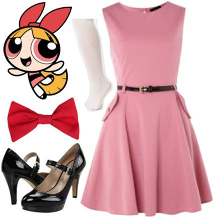 Fashion Inspiration: The Powerpuff Girls The Blossom Outfit!